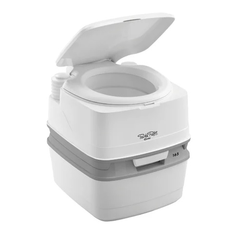 Биотуалет PORTA POTTI-QUBE 165 Grey от Алтаймедтехники